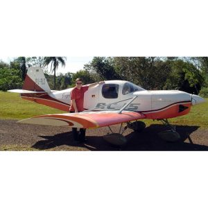 AC-15 GUAPO - PLANS AND INFORMATION SET FOR HOMEBUILD AIRCRAFT - SIMPLE & CHEAP WOOD-PLYWOOD AUTO ENGINE 2 SEATER