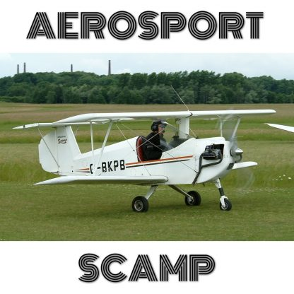 AEROSPORT SCAMP – PLANS FOR HOMEBUILD SIMPLE FULL METAL VOLKSWAGEN ENGINE AIRCRAFT!