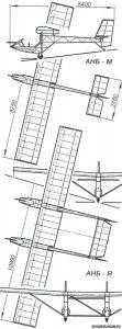ANB-M PART103 SAILPLANE – PLANS FOR HOMEBUILD – FULL METAL PRIMARY GLIDER