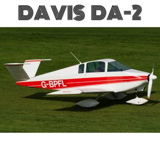 DAVIS DA-2 – PLANS AND INFORMATION SET FOR HOMEBUILD AIRCRAFT – EASY & CHEAP BUILD FULL METAL 2 SEATER AIRCRAFT