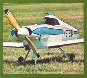 DAVIS DA-5A PLANS FOR HOMEBUILD – SIMPLE 1 SEAT FULL METAL VOLKSWAGEN ENGINE AIRCRAFT