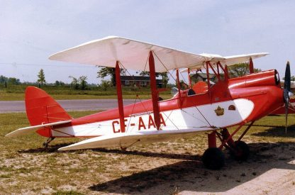 DE HAVILLAND DH.60 MOTH – PLANS AND INFORMATION SET FOR HOMEBUILD AIRCRAFT