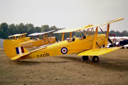 DE HAVILLAND DH.82 TIGER MOTH – PLANS AND INFORMATION SET FOR HOMEBUILD LEGENDARY BIPLANE – ORIGINAL PLANS 1007 PAGES!