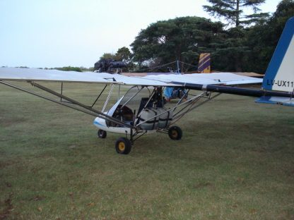 DUAL BIRD ULTRALIGHT PLANS – 2 SEAT ROTAX 503-582 TUBE-DACRON