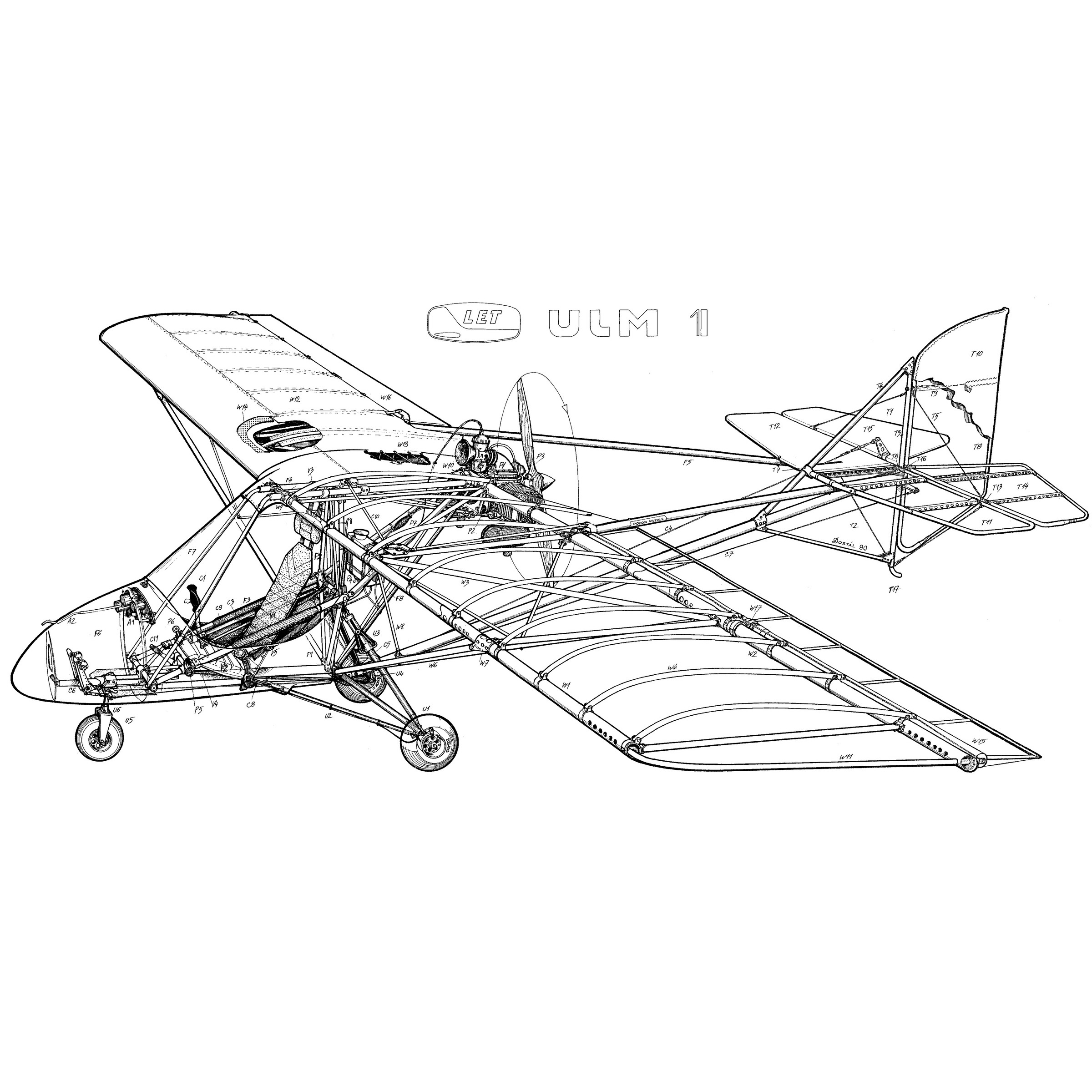 gryf ulm 1 plans and information set for homebuild aircraft