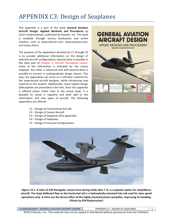 Military and general aviation engineers looking into new design for airplanes