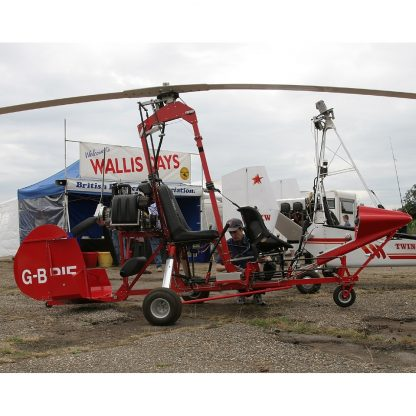 PARSONS TANDEM AUTOGYRO – PLANS AND INFORMATION SET FOR HOMEBUILD 2 SEAT PUSHER