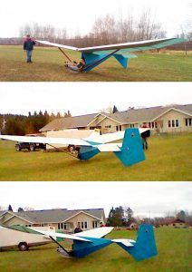 SUPER FLOATER – PART103 ULTRALIGHT SAILPLANE PLANS FOR HOMEBUILD SIMPLE & CHEAP BUILD TUBE-DACRON
