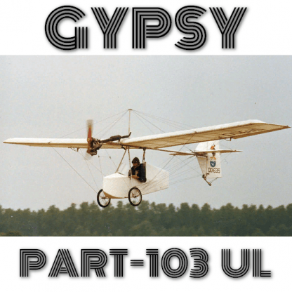 CHOTIA GYPSY PART103 ULTRALIGHT - PLANS AND MANUALS FOR HOMEBUILD SIMPLY&CHEAP STOL AIRPLANE
