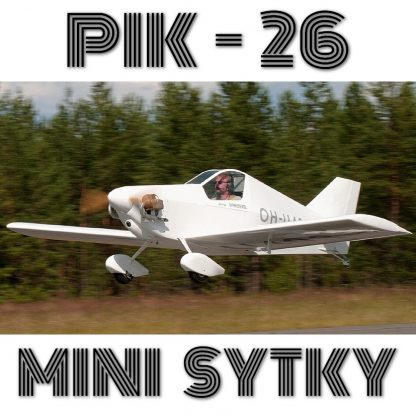 PIK-26 MINI SYTKY - PLANS AND INFORMATION SET (5GB) FOR HOMEBUILD AIRCRAFT