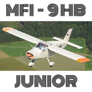 MFI-9HB JUNIOR - PLANS AND INFORMATION SET FOR HOMEBUILD (Bölkow Bo-208, Malmö-SAAB)