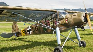 SLEPCEV STORCH STOL - PLANS AND INFORMATION SET FOR HOMEBUILD AIRCRAFT - 3/4 SCALE REPLICA GERMAN STOL - FIESELER Fi-156 STORCH