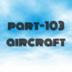 part-103 aircraft