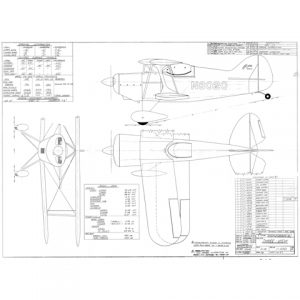BANTY PITTS S1S – PLANS AND INFORMATION SET FOR HOMEBUILD AIRCRAFT